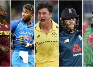 ICC World Cup 2019 All-rounders