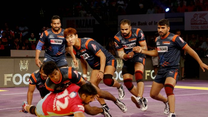 KABADDI-PKL 7-PINK PANTHERS vs WARRIORS