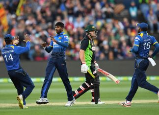 CRICKET - AUS vs SL T20I I