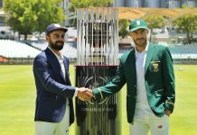 CRICKET - IND vs SA Test I