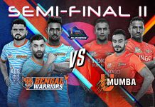 KABADDI - PKL 7 - SEMI FINAL 2