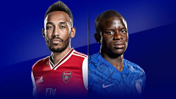 FOOTBALL - EPL - ARSENAL vs CHELSEA