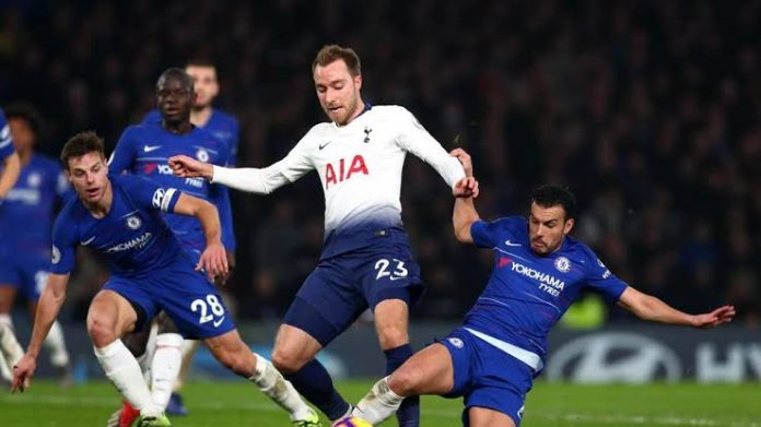 FOOTBALL - EPL - TOTTENHAM vs CHELSEA