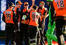 CRICKET - BBL - SCORCHERS vs STARS