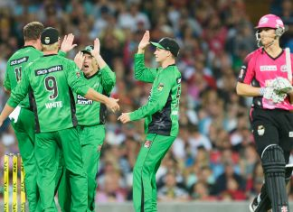 CRICKET - BBL - STARS vs SIXERS