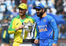 CRICKET - INDIA vs AUSTRALIA ODI III