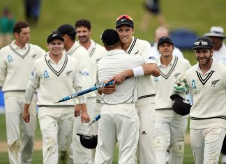 CRICKET - NZ vs IND TEST I