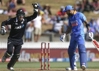 CRICKET - NZ vs INDIA ODI II