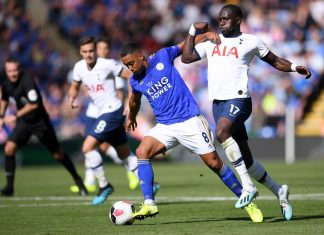 FOOTBALL - EPL - TOTTENHAM vs LEICESTER