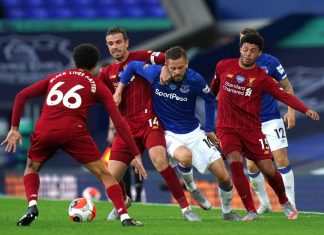 FOOTBALL - EPL - EVERTON vs LIVERPOOL