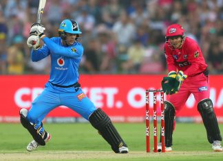 CRICKET - BBL - SIXERS vs STRIKERS