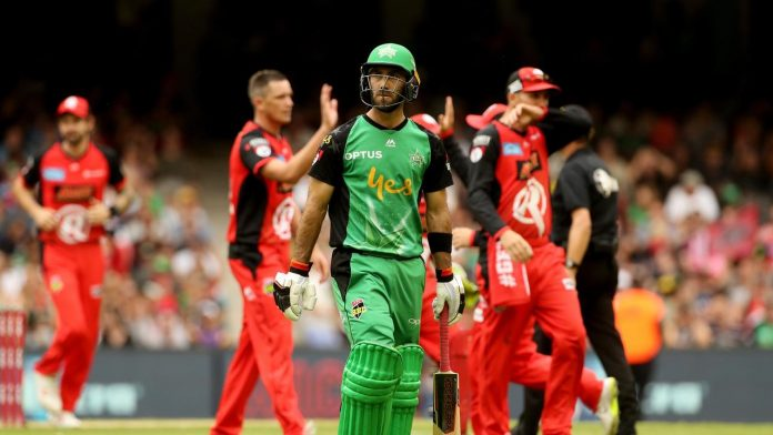 CRICKET - BBL - RENEGADES vs STARS