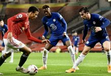 FOOTBALL - EPL - CHELSEA v UNITED